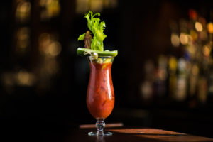 bloody mary drink at 75 on chestnut restaurant in beacon hill boston photographed by boston food photographer nicole loeb