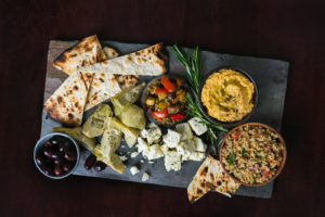 cheese platter at 75 on chestnut restaurant in beacon hill boston photographed by boston food photographer nicole loeb