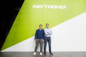 Paytronic co-founders executive portrait photographed by boston corporate photographer nicole loeb
