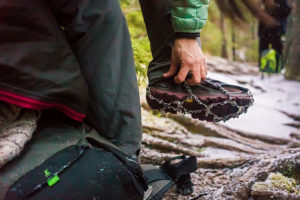 Kahtoola microspikes photographed by boston outdoor adventure photographer nicole loeb